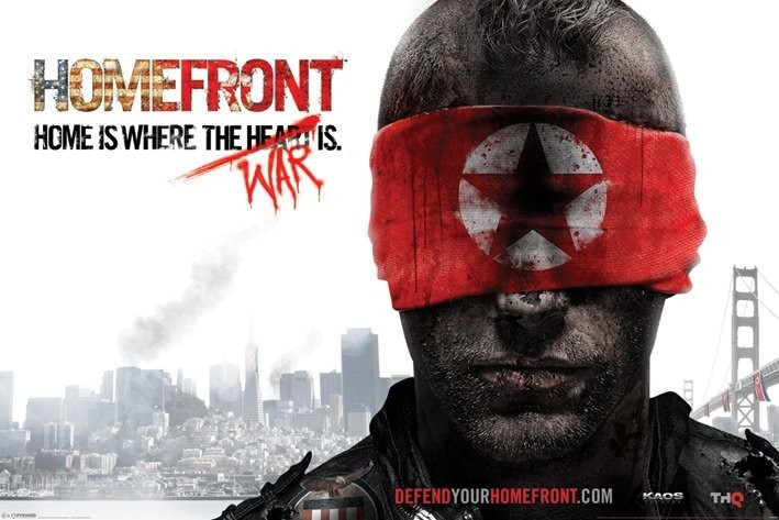 Plakat Homefront - blindfold