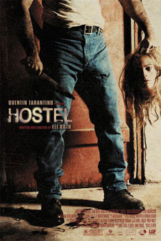 Plakat HOSTEL - head