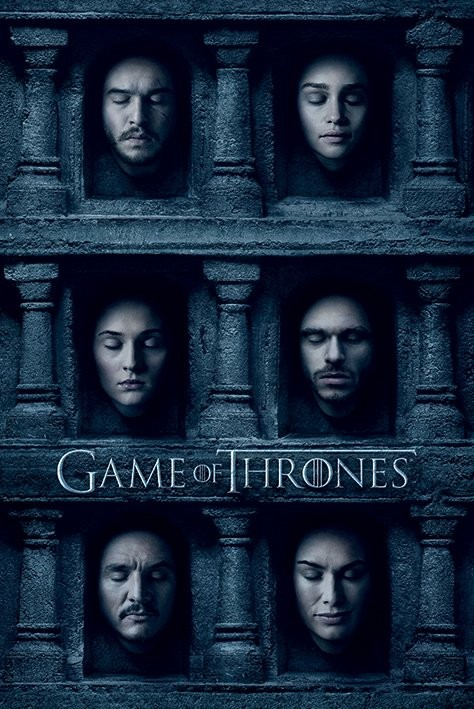Plakát Hra o Trůny (Game of Thrones) - Hall of Faces