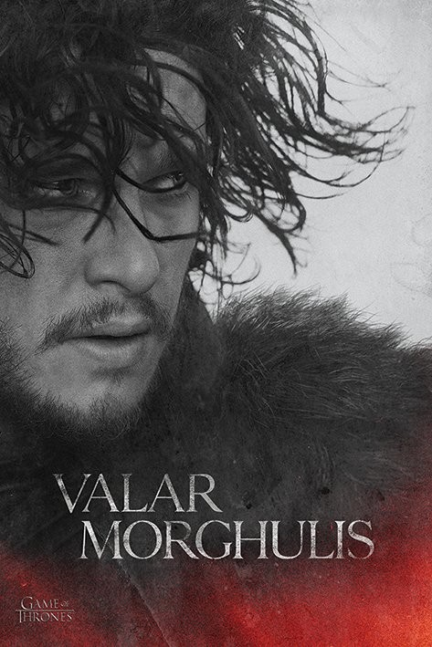 Plakát  Hra o Trůny - Game of Thrones - Jon Snow