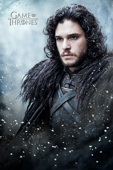Plakát  Hra o Trůny ( Game of Thrones) - Jon Snow