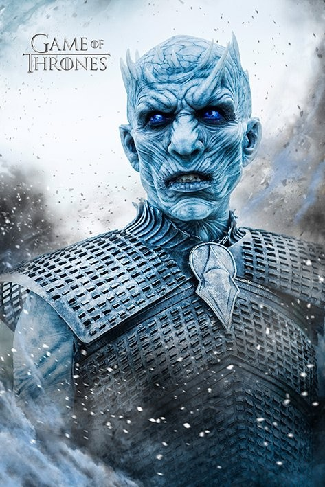 Plakát  Hra o Trůny (Game of Thrones) - Night King