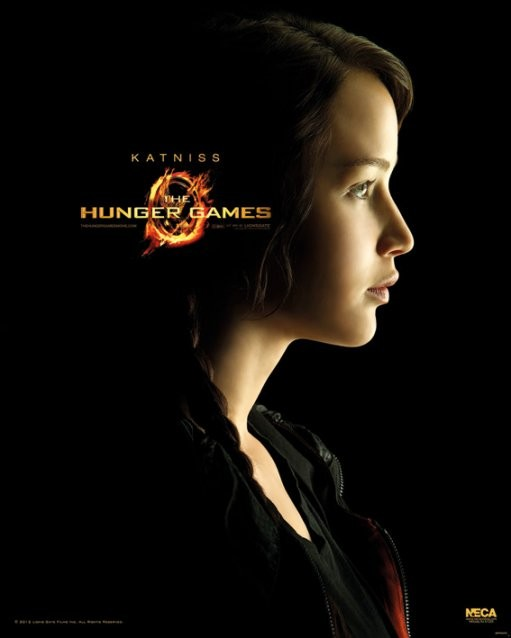 Plakát HUNGER GAMES - Katniss