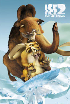 Plakat ICE AGE 2 - fossil