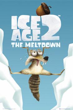Plakat ICE AGE 2 - scrat