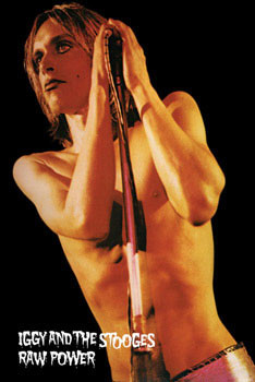 Plakat Iggy Pop - raw power