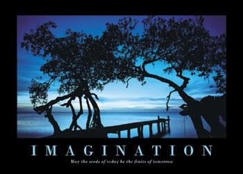 Plakát Imagination