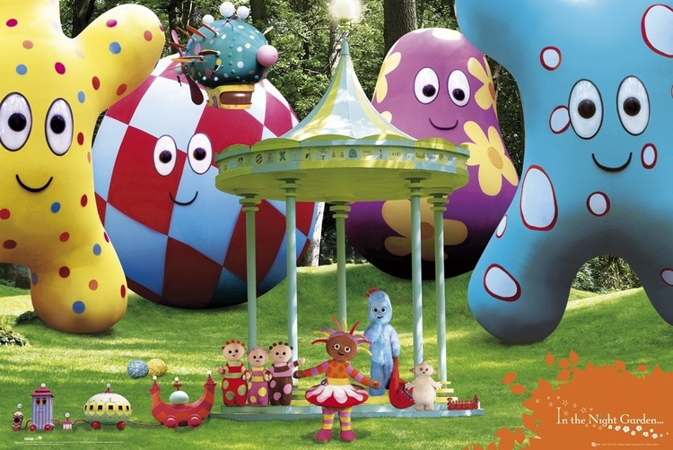Plakat IN THE NIGHT GARDEN - cast