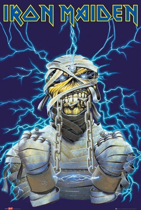 Plakát Iron Maiden - eddy