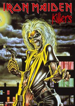 Plakát Iron Maiden - Killers