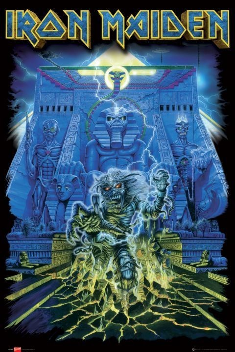 Plakat Iron Maiden - tomb