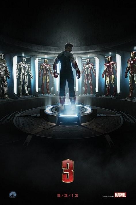 Plakát IRON MAN 3 - teaser