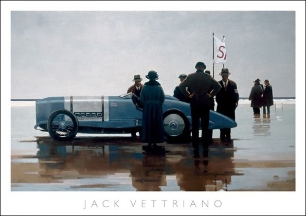 Reprodukcje Obraz Jack Vettriano Pendine Beach Posterspl