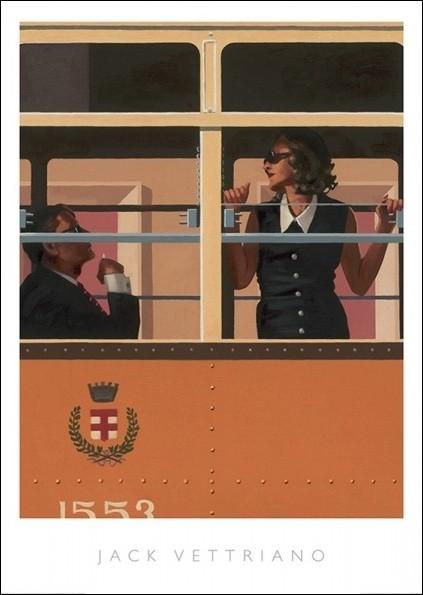 Reprodukcje Obraz Jack Vettriano The Look Of Love Posterspl
