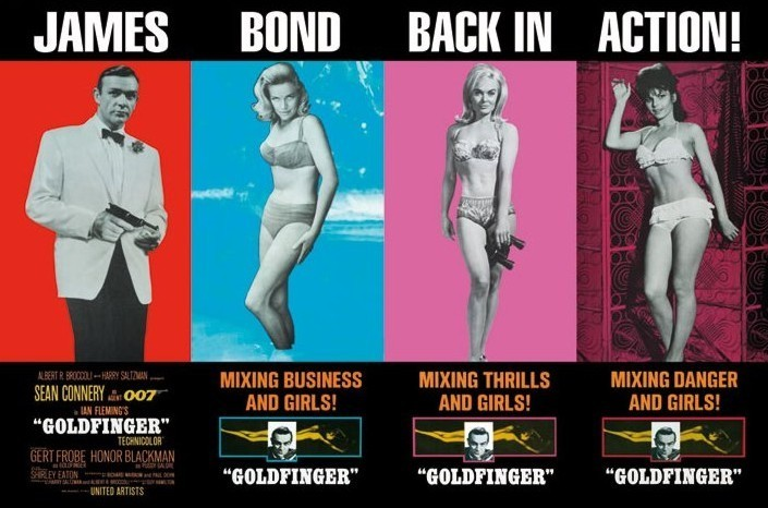 Plakat JAMES BOND 007 - back in action