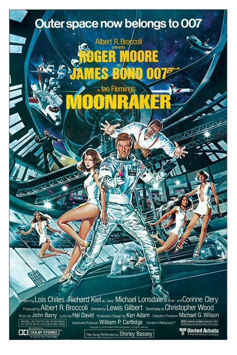 JAMES BOND 007 - moonraker plakát, obraz