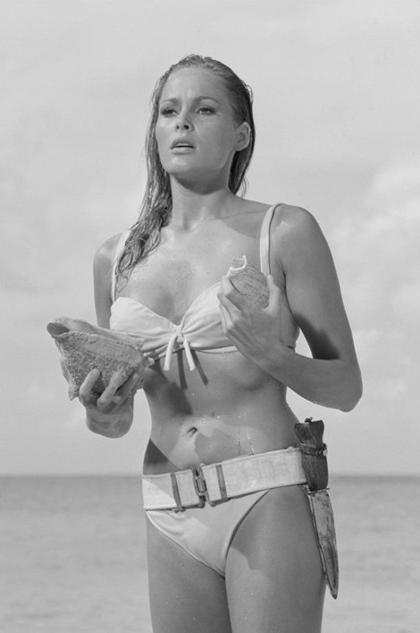 Plakat James Bond 007 - ursula andress