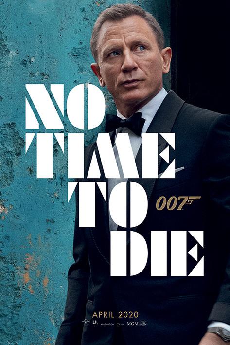 Plakat, Obraz James Bond - No Time To Die - Azure Teaser   Kup na Posters.pl