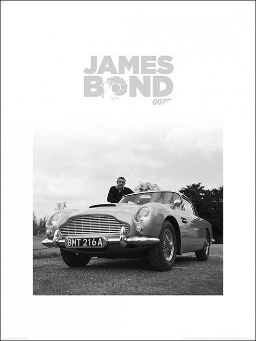 Reprodukcja James Bond - Shean Connery