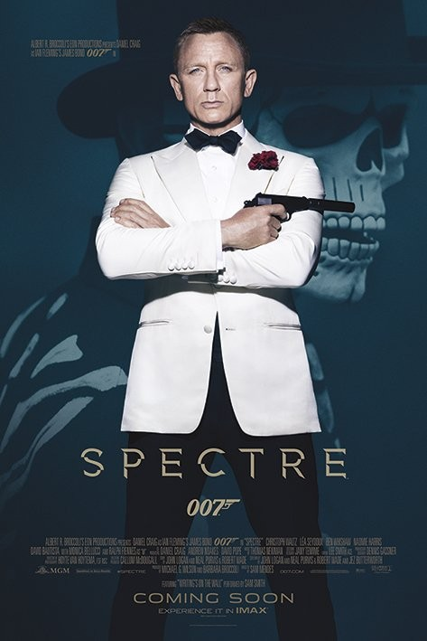 Plakát James Bond: Spectre - Skull