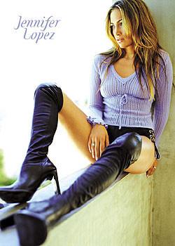 Plakát Jennifer Lopez - boots