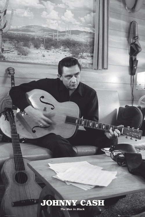 Plakát Johnny Cash - man in black