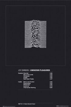 Plakát Joy Division - unknown pleasure
