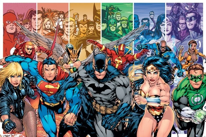 Plakat JUSTICE LEAGUE AMERICA