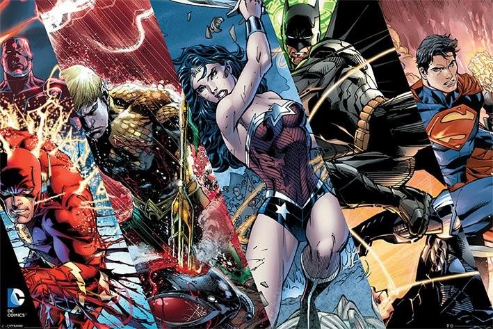 Plakát Justice League - Heroes