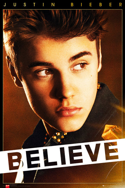 Plakát Justin Bieber - believe