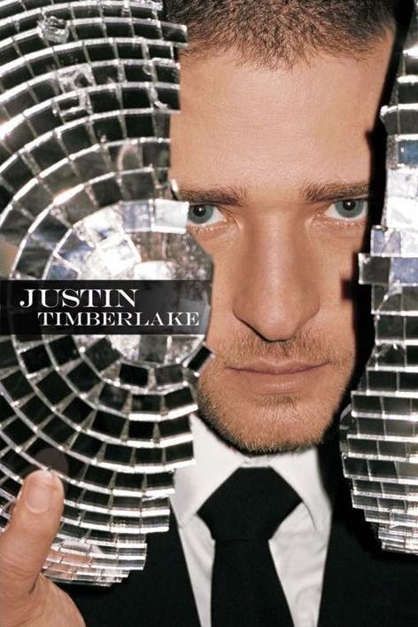 Plakat Justin Timberlake - mirrorball
