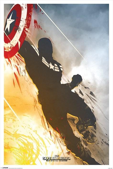 Plakat Kapitan Ameryka: Zimowy Żołnierz - One Sheet