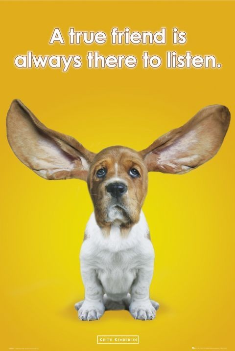 Plakat Keith Kimberlin - ears