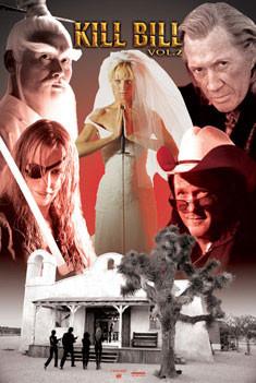 Plakát KILL BILL - chapel