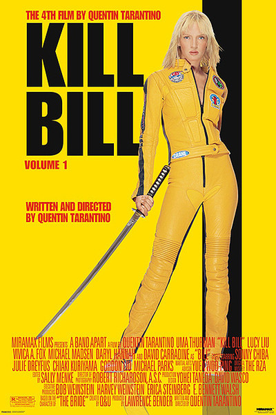Plakat Kill Bill Volume 1 - Uma Thurman