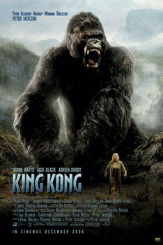 Plakát KING KONG - roar one sheet
