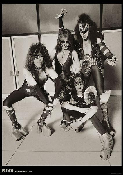Plakát Kiss - Amsterdam 1976