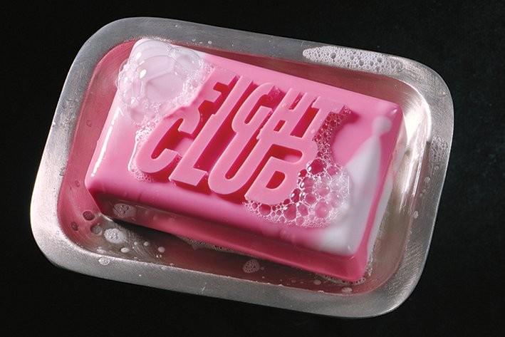 Plakát Klub rváčů - mýdlo