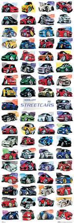 Plakát Koolart - streetcars