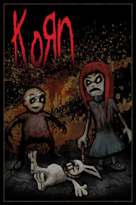 Plakát KORN - dead bunny