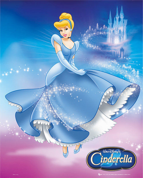 Plakat Księżniczki Disneya - Disney