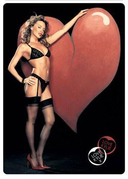 Plakat Kylie - heart