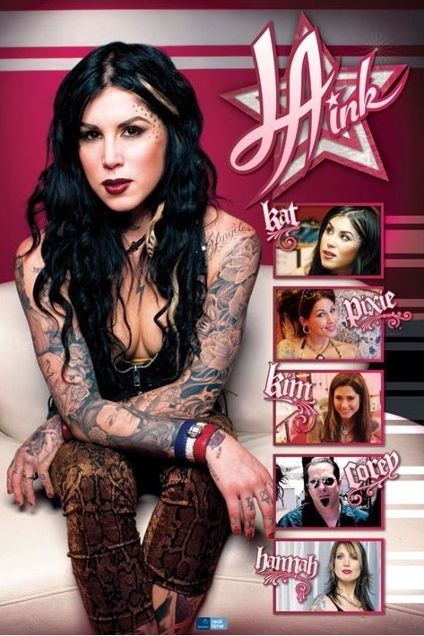 Plakát L.A Ink - crew