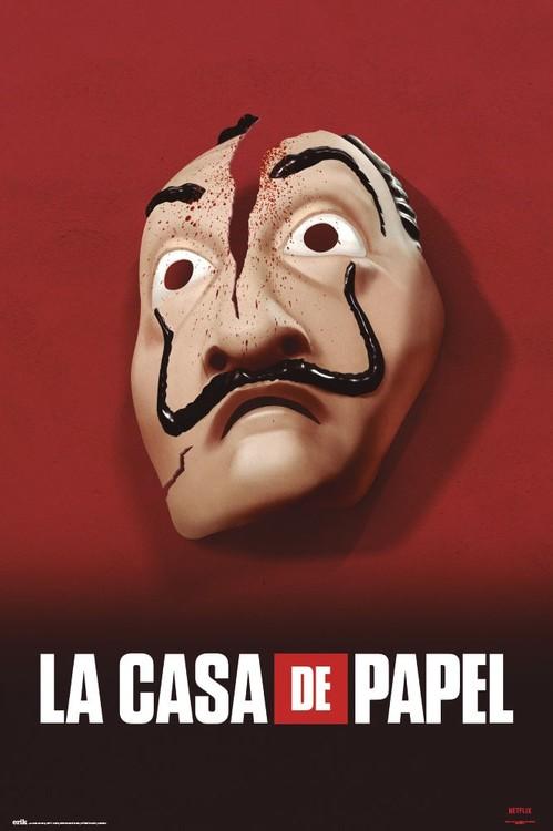 Plakát  La Casa De Papel - Mask