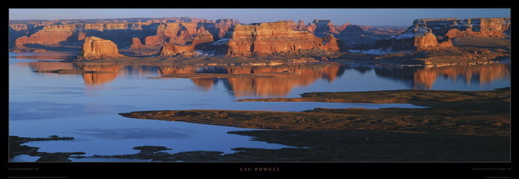 Reprodukcja Lac powell