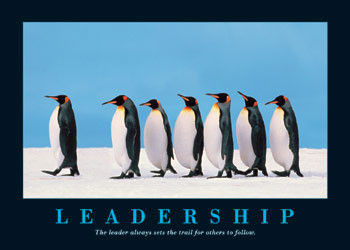 Plakat Leadership