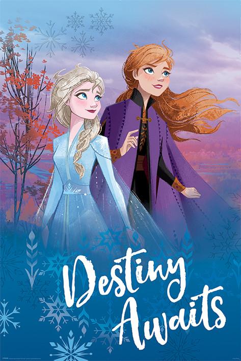Plakát Ledové království 2 (Frozen) - Destiny Awaits