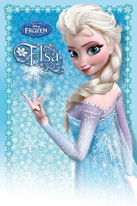 Plakát  Ledové království - Elsa