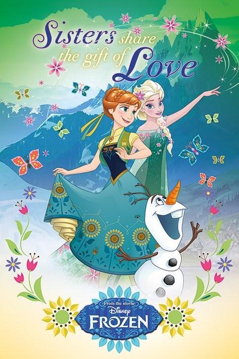 Plakát  Ledové království - Gift Of Love