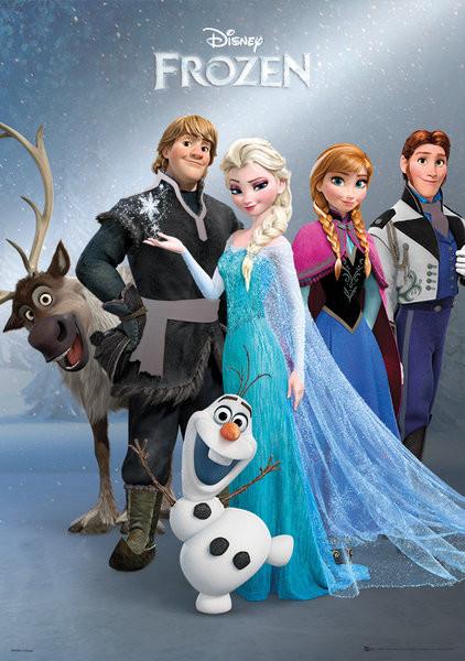Plakát Ledové království - Group
